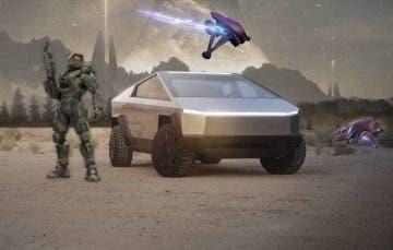 Elon Musk reconoce que su Cybertruck está inspirado en Halo 1