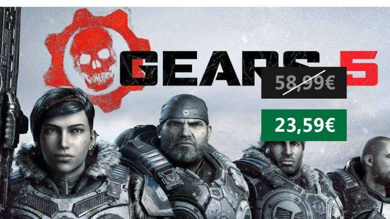 Oferta Gears 5 Xbox One / PC 1