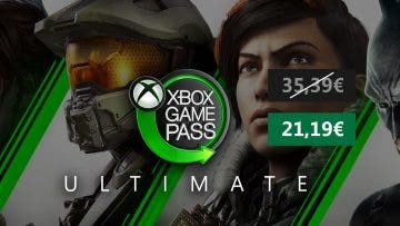 Oferta 3 meses Xbox Game Pass Ultimate Xbox/PC 13