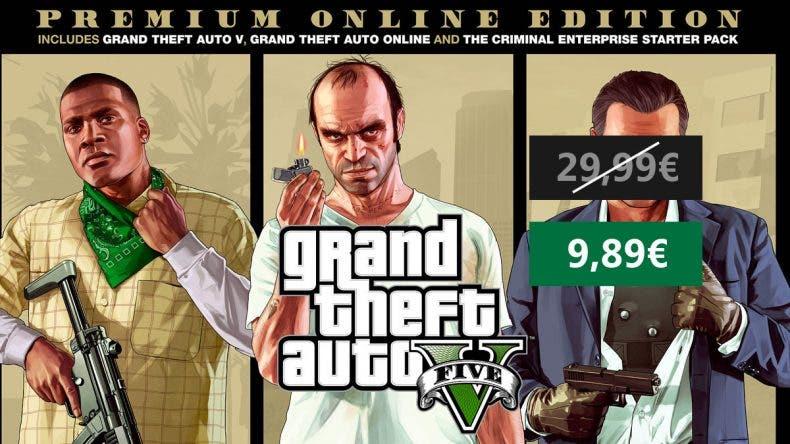 Oferta Grand Theft Auto V: Premium Online Edition XBOX ONE 1