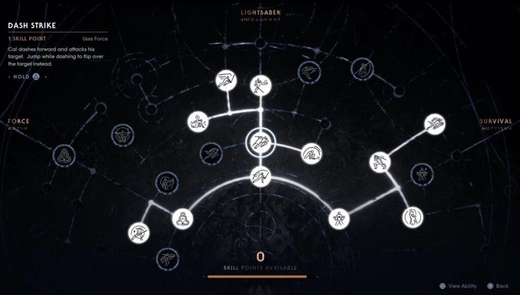 Qué habilidades desbloquear primero en Jedi Fallen Order 2
