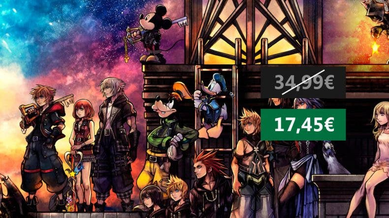 Aprovecha esta oferta de Kingdom Hearts III (Xbox One) 1