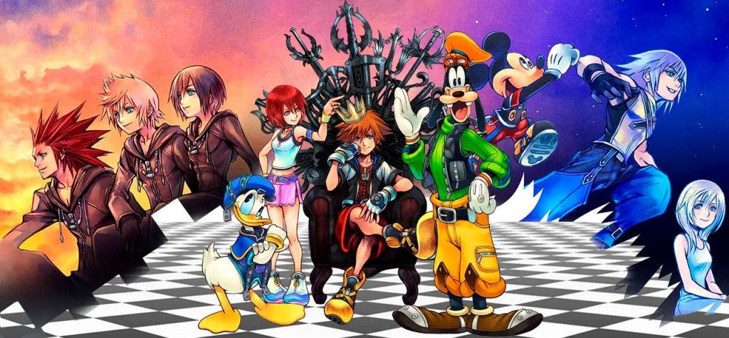 La saga Kingdom Hearts llegará a Xbox One 2