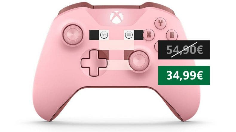Oferta Mando inalámbrico Xbox - Minecraft 1