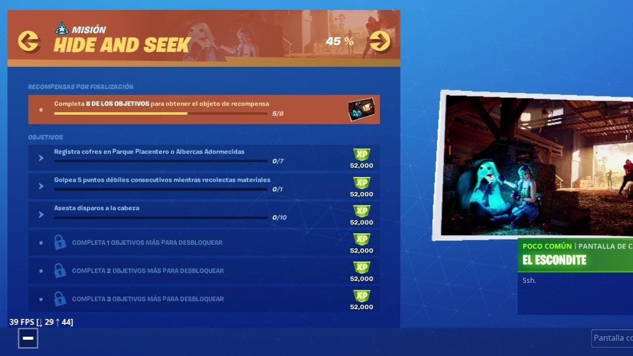 Cómo completar los desafíos Hide and Seek de la semana 6 en Fortnite 1