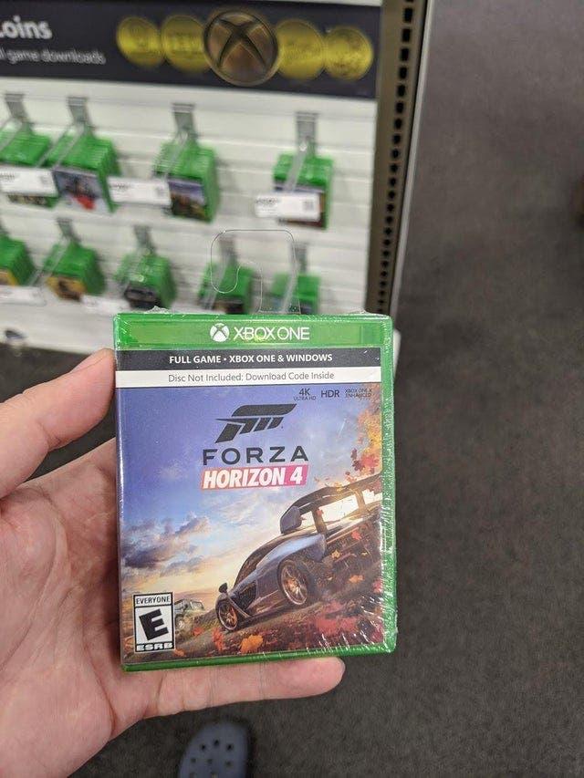 Nuevas mini cajas físicas para los juegos digitales de Xbox 2