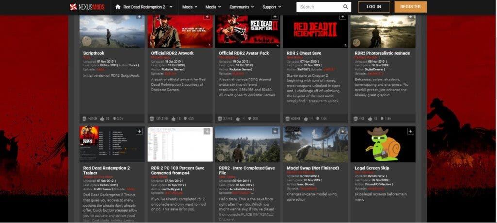 Los mods más populares de Red Dead Redemption 2 en PC son para saltar escenas 2