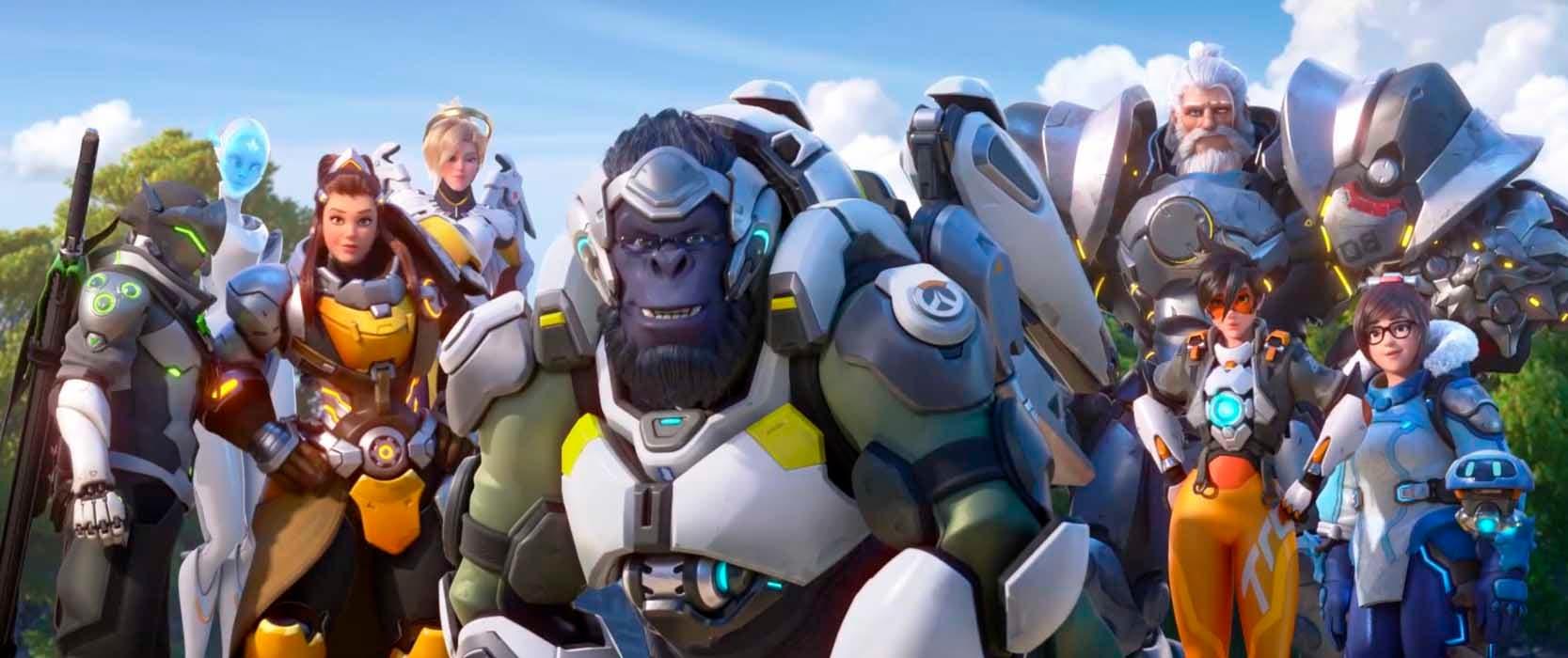 Así han evolucionado los héroes de Overwatch 2 en su diseño