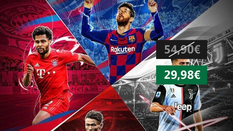Consigue eFootball PES 2020 Xbox One a un gran precio 1