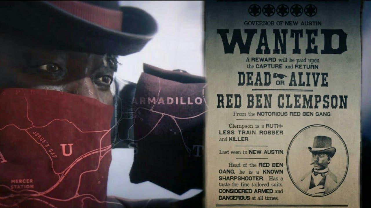 Cómo capturar a Red Ben Clempson en Red Dead Online 7