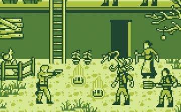 Así sería el demake de Resident Evil 4 en GameBoy 5