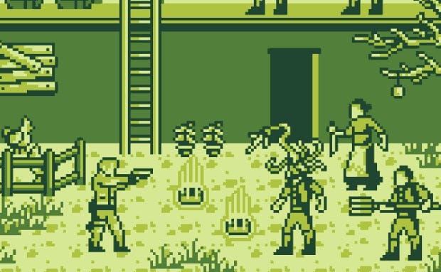 Así sería el demake de Resident Evil 4 en GameBoy 1