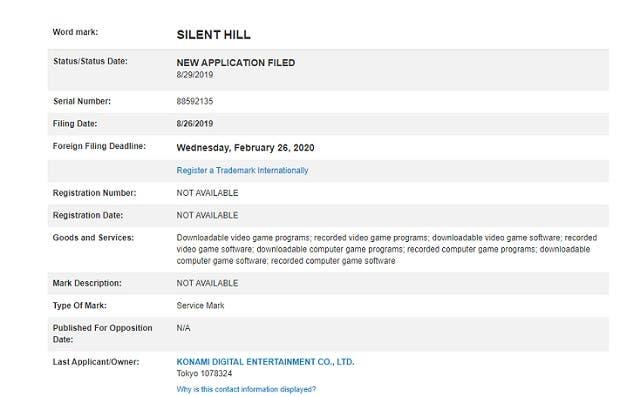 Nuevo registro de la saga Silent Hill en la categoría de videojuegos 1