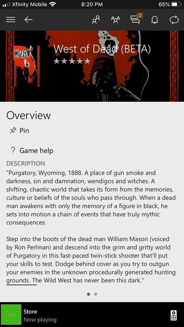 West of Dead, protagonizado por Ron Perlman, posible nuevo juego del Inside Xbox del X019 2