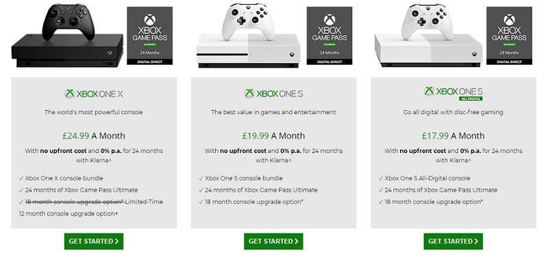 Ya se puede comprar Xbox All Access en GAME de Reino Unido 2