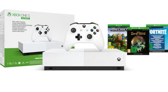 El porqué del éxito de Microsoft y su Xbox One S All-Digital en el Black Friday y Cyber Monday 2