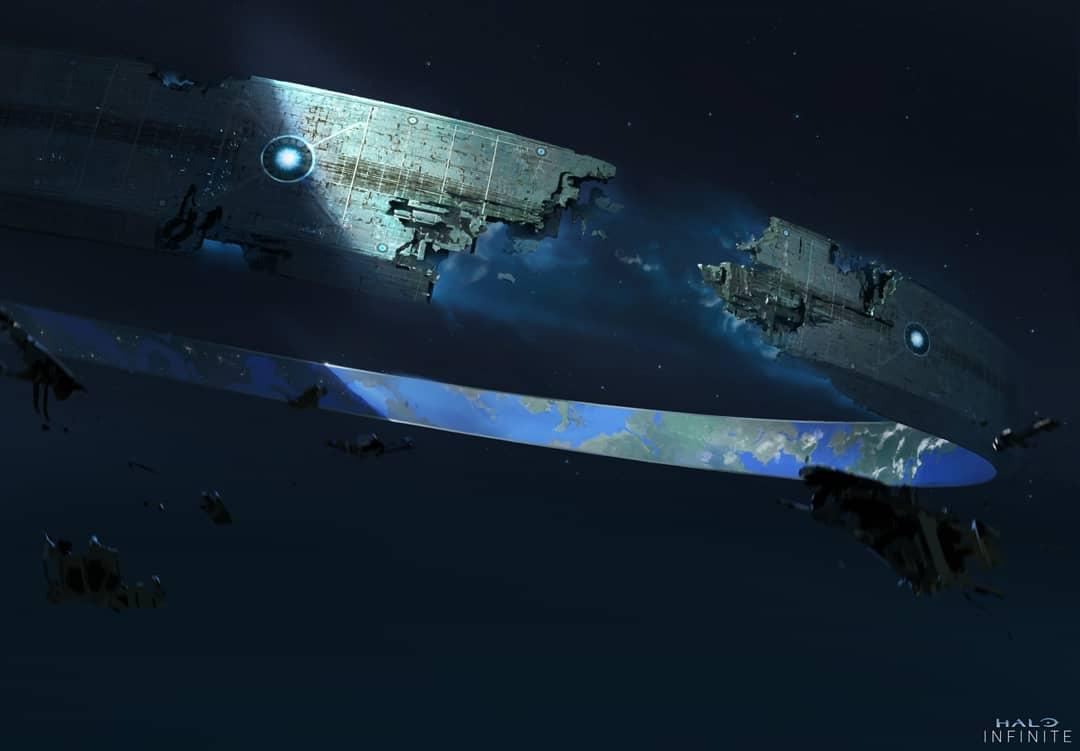 Halo Infinite obtiene un nuevo arte conceptual con la celebración de los Halodays 2