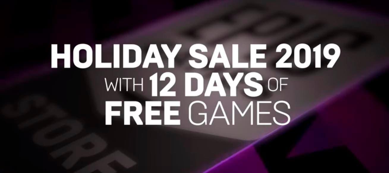 La Epic Games Store prepara 12 juegos de regalo por Navidad 1