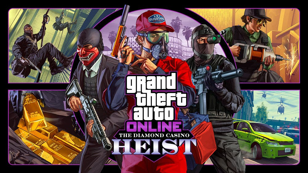 Hoy disponible el atraco al casino de GTA Online 2