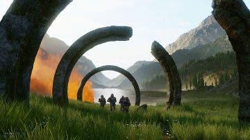 Halo Infinite obtiene un nuevo arte conceptual con la celebración de los Halodays 8