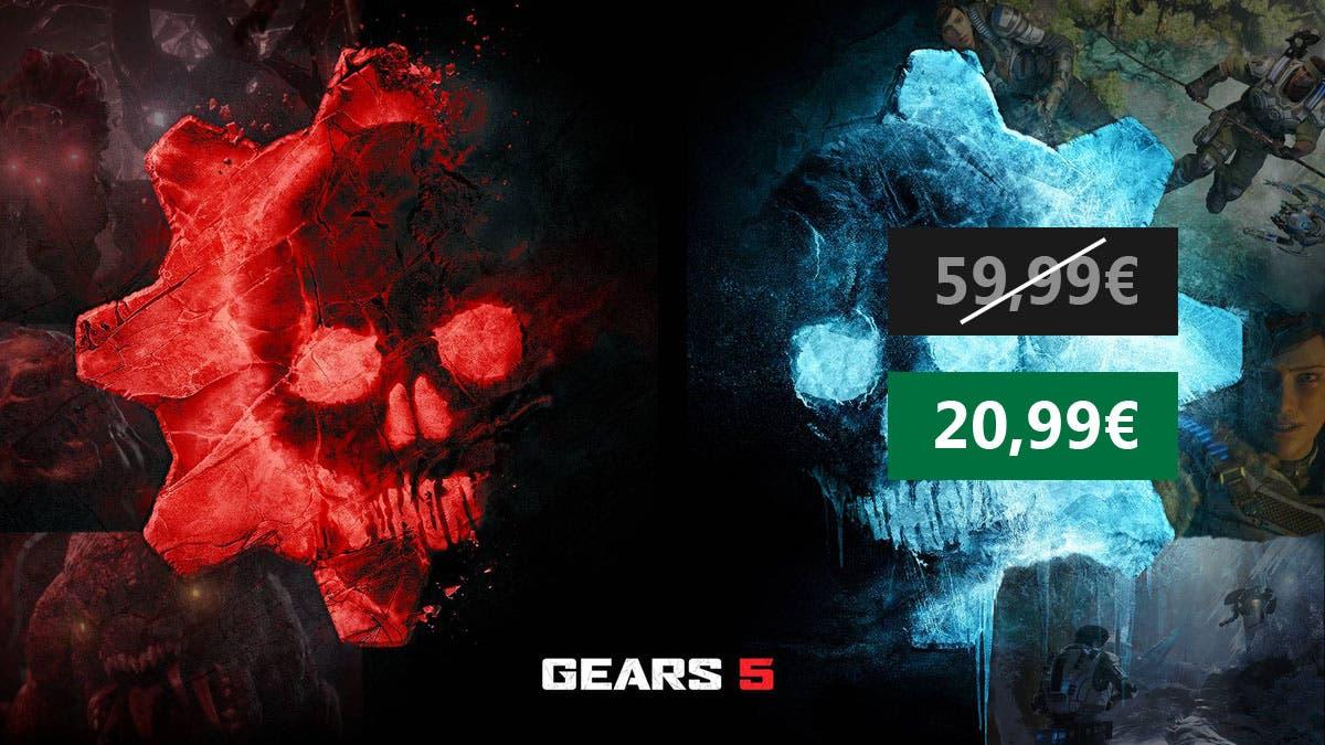Consigue Gears 5 para Xbox One/PC a un precio imbatible 18