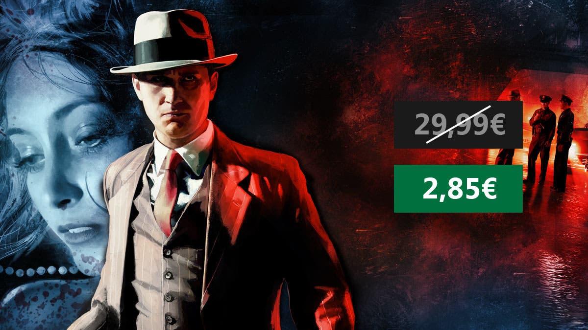 Aprovecha esta oferta de L.A. Noire para PC 6