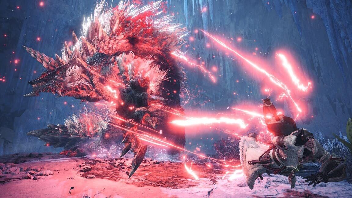 Ya disponible la nueva actualización gratuita de Monster Hunter World: Iceborne 2