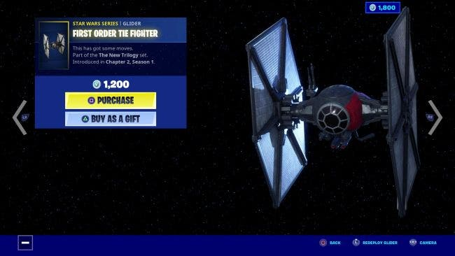 Ya están disponibles los artículos de Star Wars The Rise of Skywalker por tiempo limitado en Fortnite 7