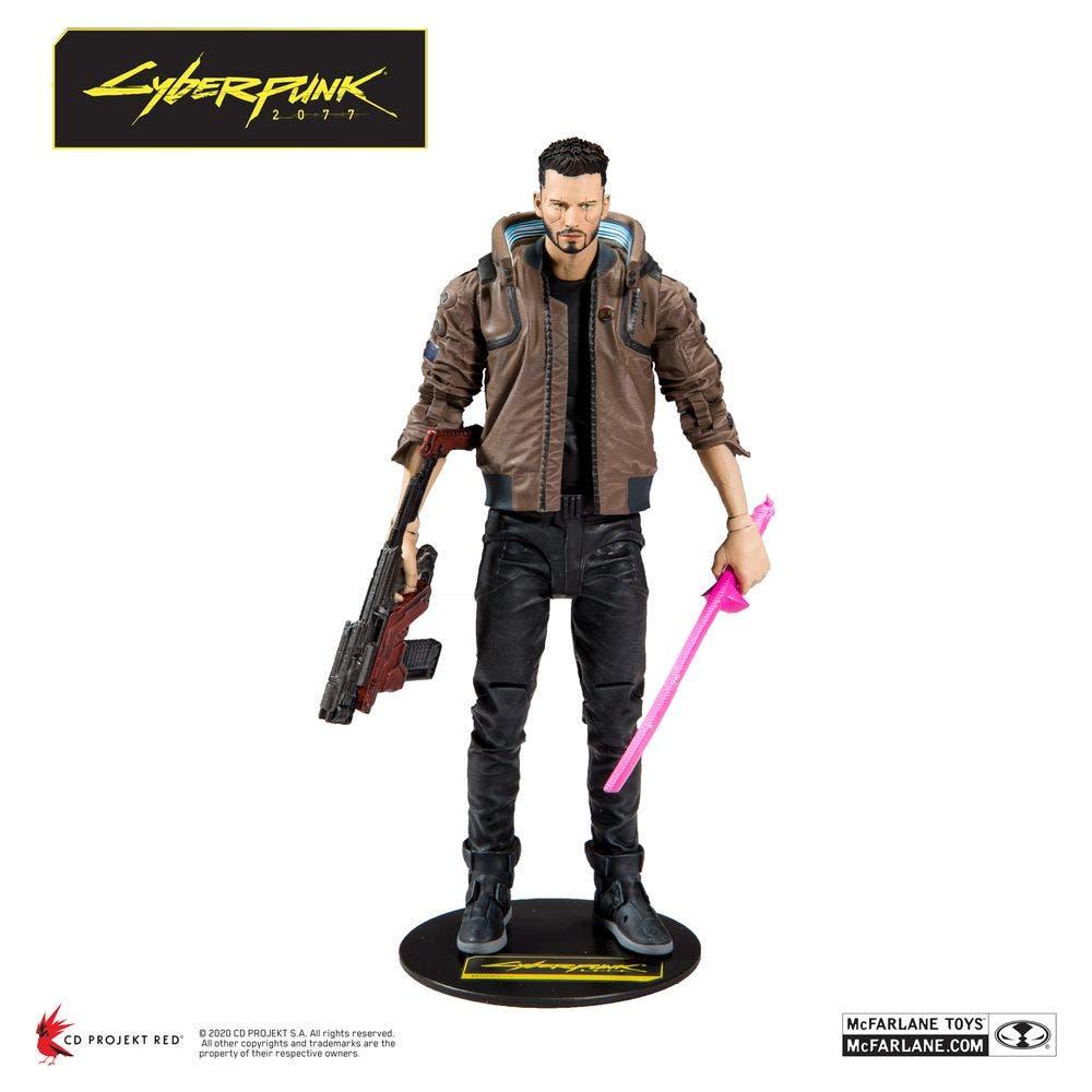 McFarlane Toys anuncia estas espectaculares figuras de acción de Cyberpunk 2077 3