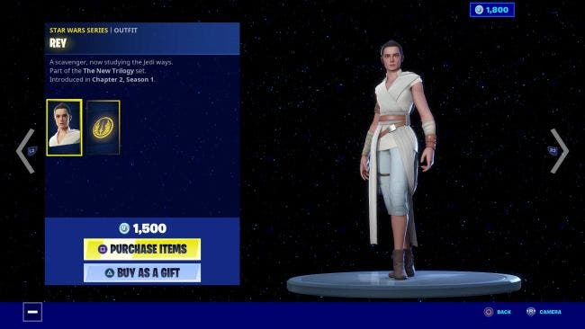 Ya están disponibles los artículos de Star Wars The Rise of Skywalker por tiempo limitado en Fortnite 11