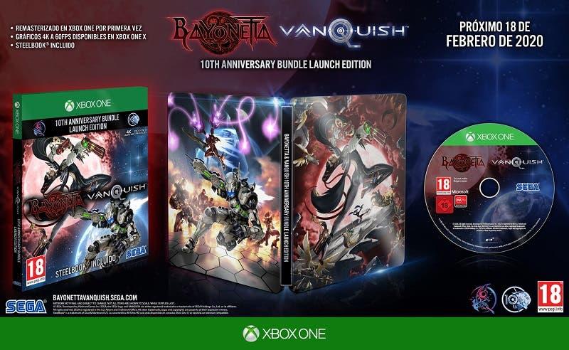 Fecha de lanzamiento de Bayonetta & Vanquish 10th Anniversary Bundle y detalles de la edición física 2