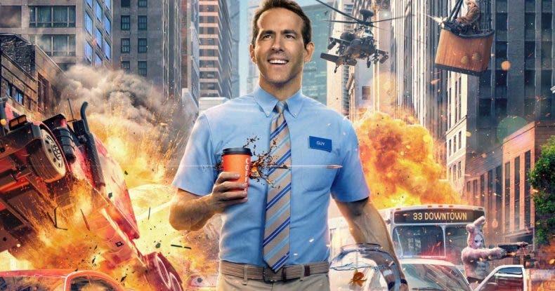 Ryan Reynolds se convierte en un peculiar NPC en su nueva película, Free Guy 1
