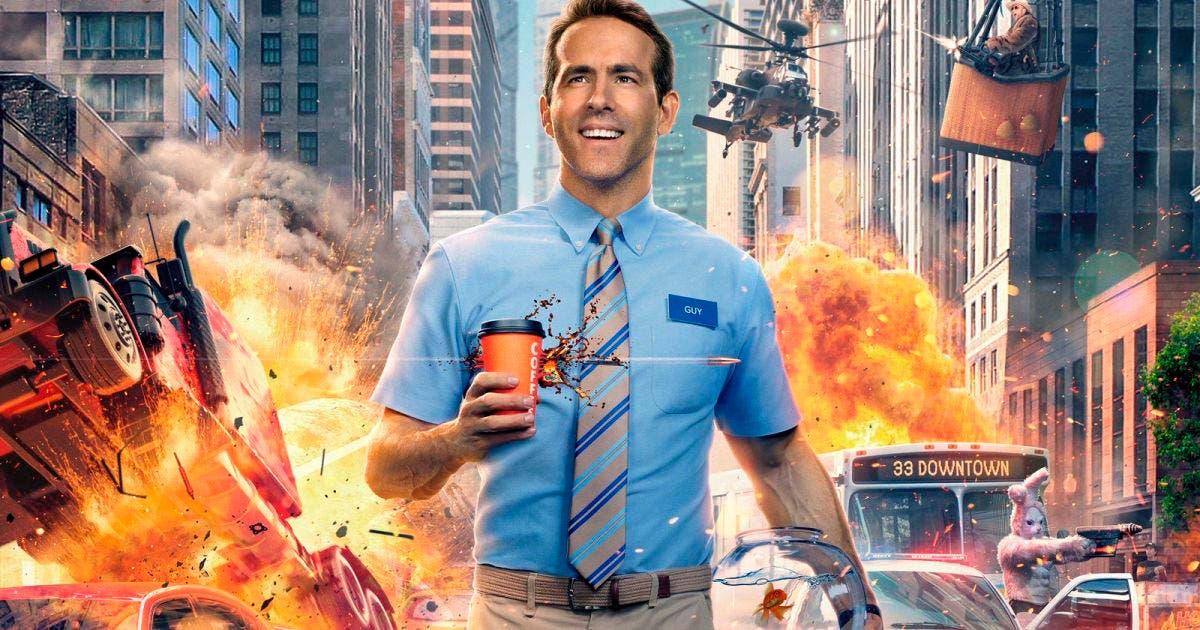 Ryan Reynolds se convierte en un peculiar NPC en su nueva película, Free Guy 8