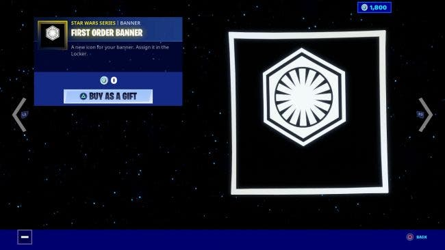 Ya están disponibles los artículos de Star Wars The Rise of Skywalker por tiempo limitado en Fortnite 3