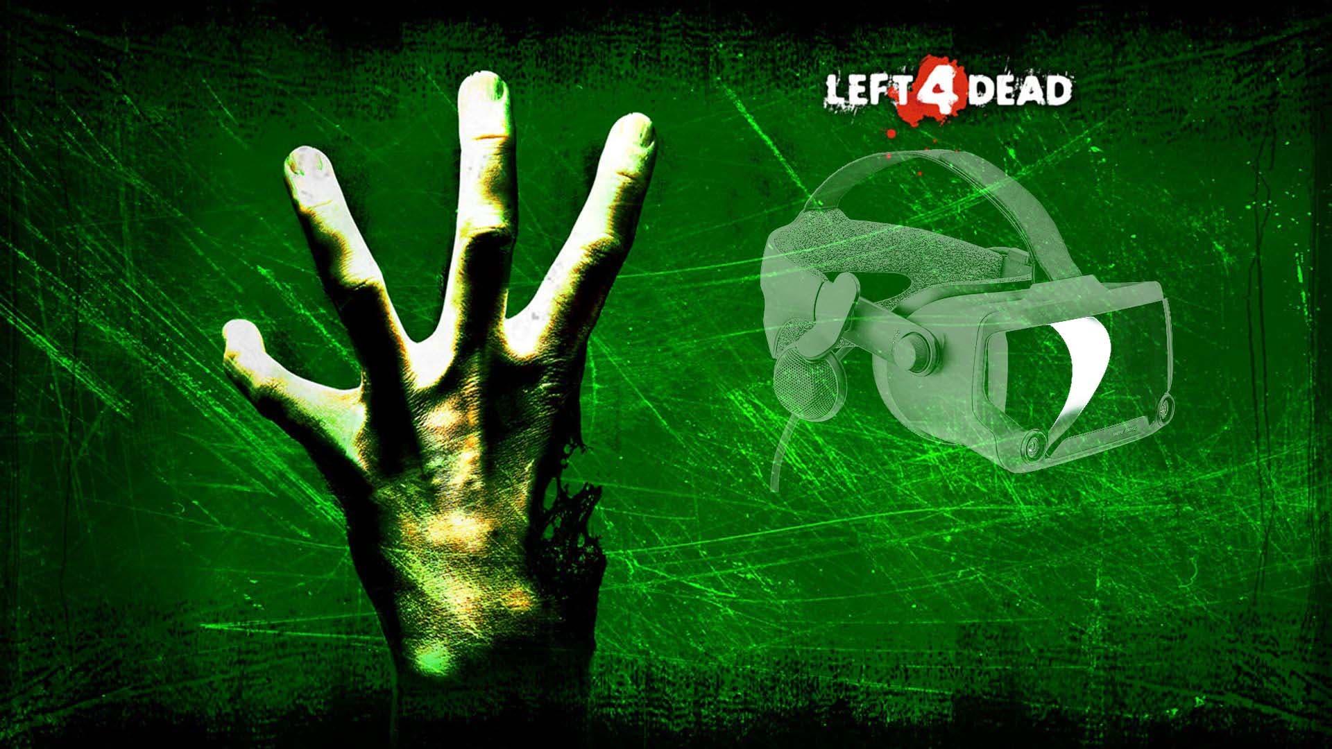 Left 4 Dead VR sería el próximo título de Valve según un rumor 4