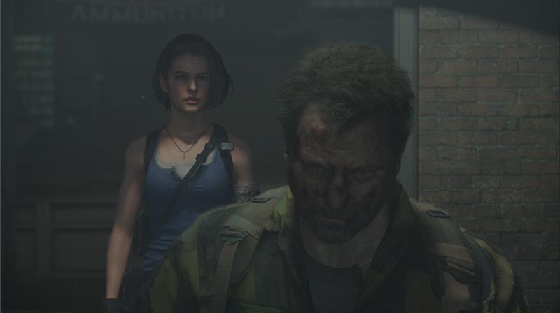 Jill y Kendo en el nuevo logro de Resident Evil 2 Remake