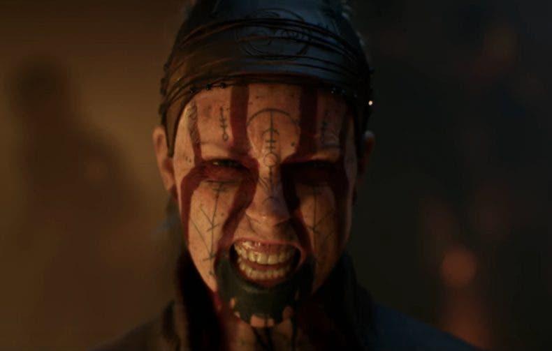 Captura del tráiler de presentación de Hellblade 2