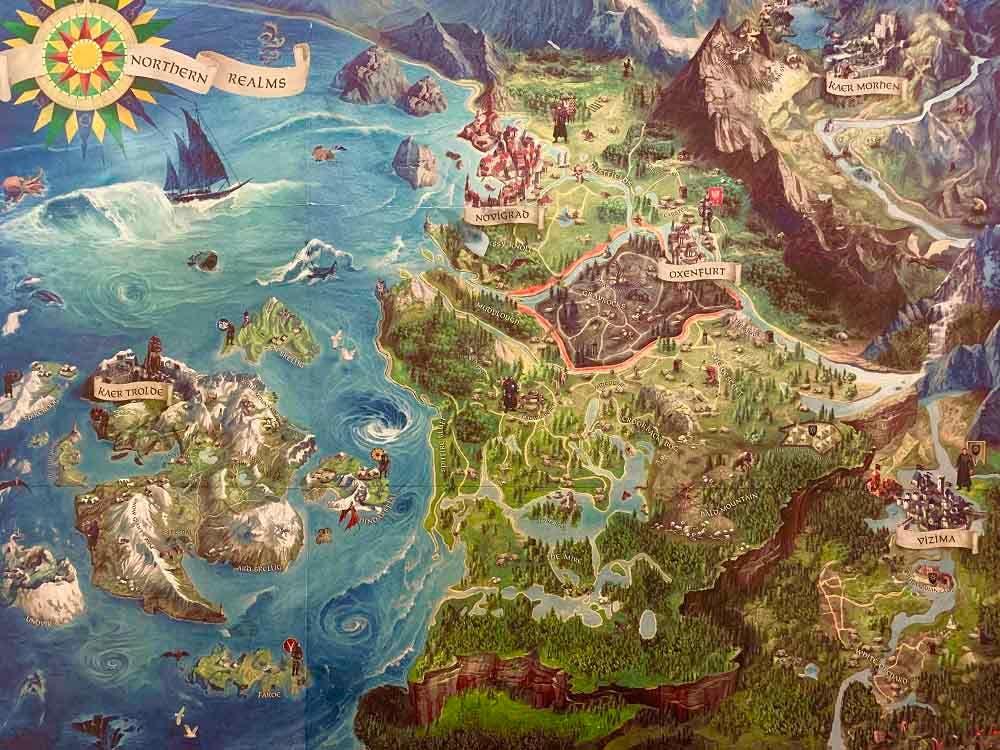 Así es la teoría que conecta el mundo de The Witcher 3 con el mapa de Europa 2