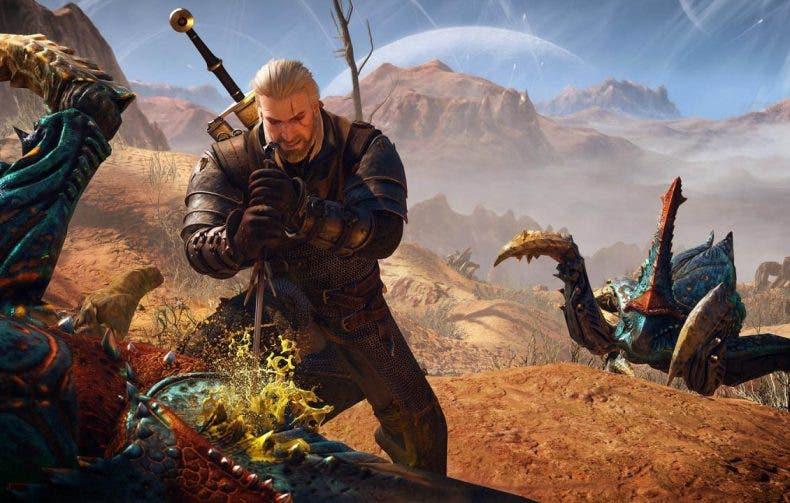 Un fan imagina cómo luciría Geralt de Rivia de The Witcher en Mortal Kombat 11 1
