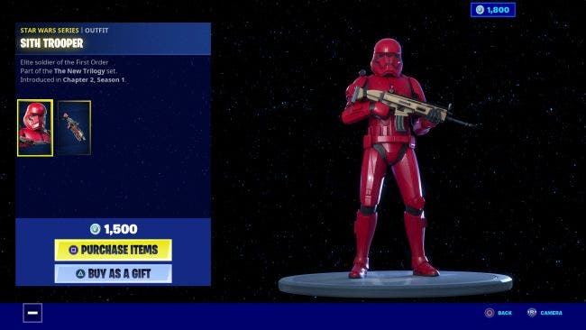 Ya están disponibles los artículos de Star Wars The Rise of Skywalker por tiempo limitado en Fortnite 5