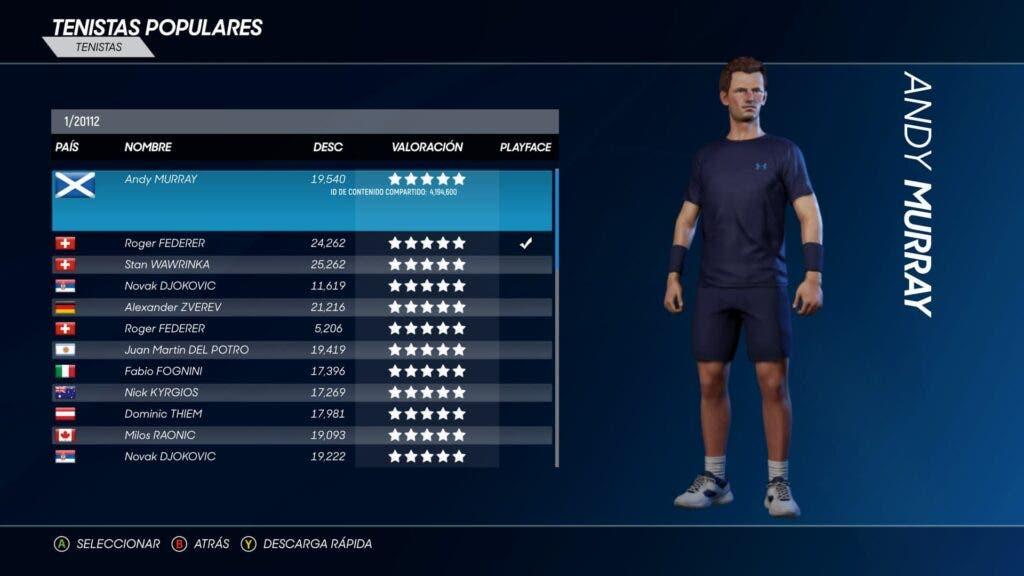 Análisis de AO Tennis 2 - Xbox One 3