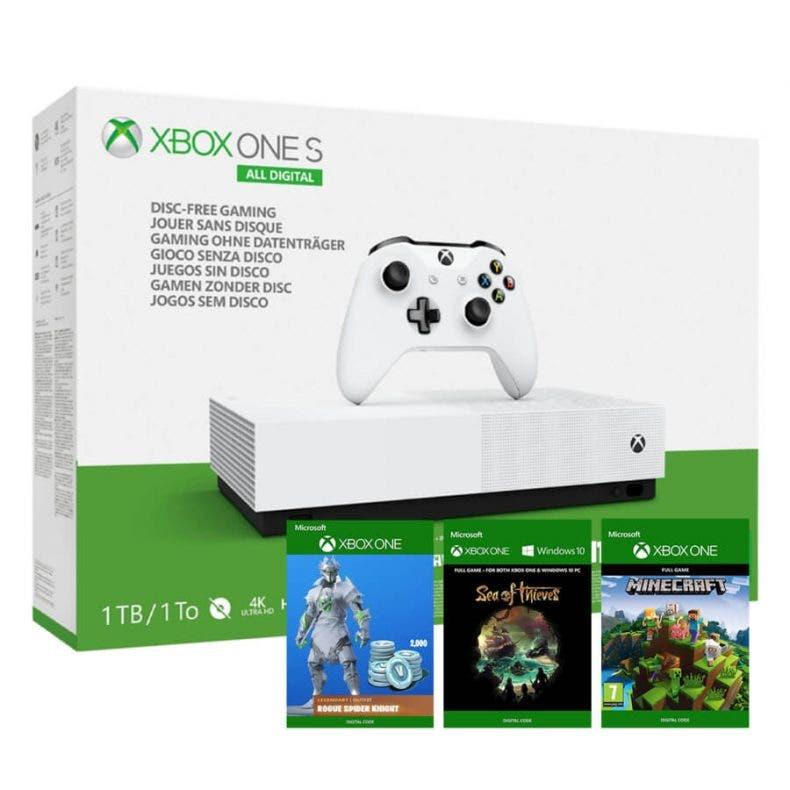 Xbox One S All-Digital Edition recibe una gran oferta en El Corte Inglés de cara a los Reyes Magos 1