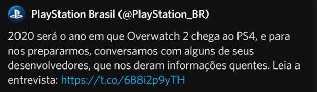 Se habría desvelado por error la fecha de lanzamiento de Overwatch 2 2