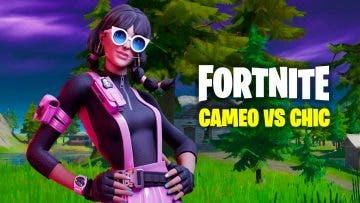 Cómo completar los desafíos de Cameo vs Chic en Fortnite Capítulo 2 4
