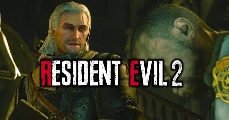 Destruye zombies con Geralt de Rivia en Resident Evil 2 Remake gracias a este mod