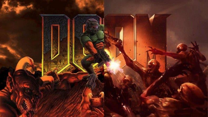 DOOM Eternal le aparece a un jugador con la categoría Xbox Game Pass en la Microsoft Store
