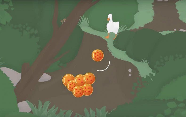 El ganso de Untitled Goose Game pulveriza enemigos en Dragon Ball Z Kakarot gracias a un increíble mod 1