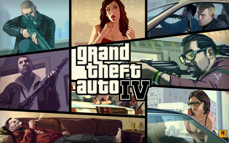Grand Theft Auto IV vuelve más fuerte que nunca a Steam