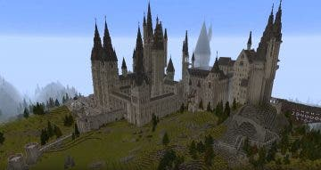 El mundo de Harry Potter llegará a Minecraft con un resultado espectacular 10