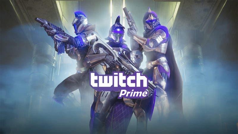 Los jugadores de Destiny 2 seguirán recibiendo loot gratis gracias a Twitch Prime